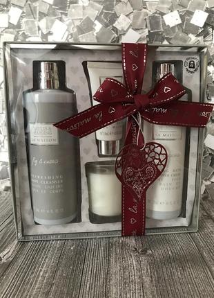 Baylis & harding la maison fig and cassis festive candle gift set ,сток косметика