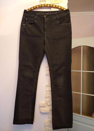 Джинсы штаны брюки высокая посадка