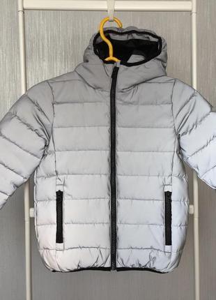 Рефлективная/светоотражающая куртка next демисезон 6 лет/116