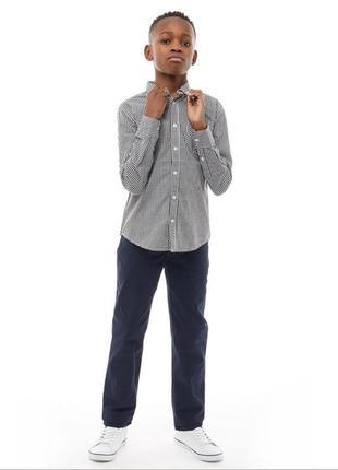🎩🌂 стильная фирменная рубашка на мальчика 10-11 лет премиум качество! ben sherman 🎩🌂