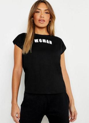 Boohoo. товар из англии. футболка из коллекции woman