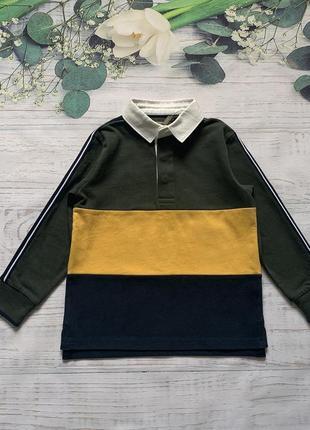 Рубашка свитер с воротником next толстовка с воротом
