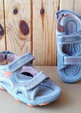 Суперские удобные дышащие сандалии стильные босоножки geox оригинал