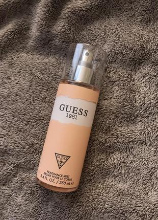 Мист парфюмированная вода спрей духи guess как victorias secret vs