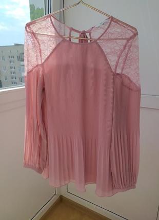 Красива,трендова блуза плісе, плиссе