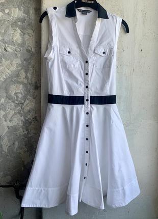 Armani exchange белое платье