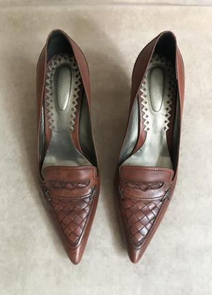 Туфли bottega veneta{оригинал},люкс бренд,италия