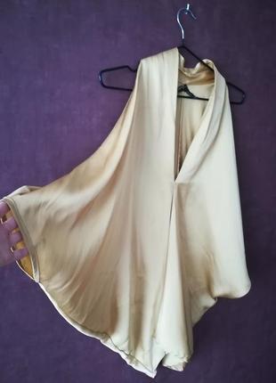 Интересная нарядная блуза из сатина