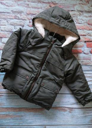 Куртка  george 3-4года звезды хаки