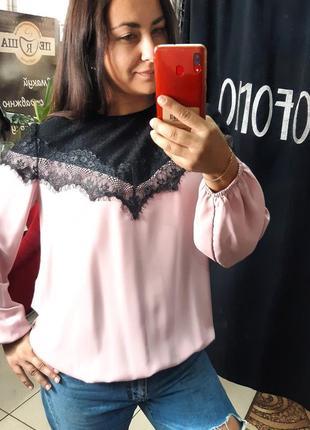 Легкая нарядная блузка