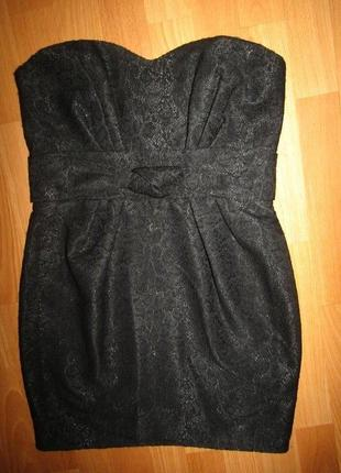 Новое платье бюстье р-р 36-10 от f&f