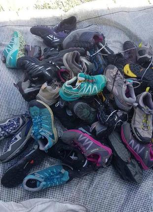 Кроссовки lowa salomon jack wolfskin scarpa la sportivagore- tex