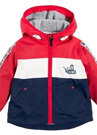 Осенне-весенняя курточка с флисовой подкладкой
