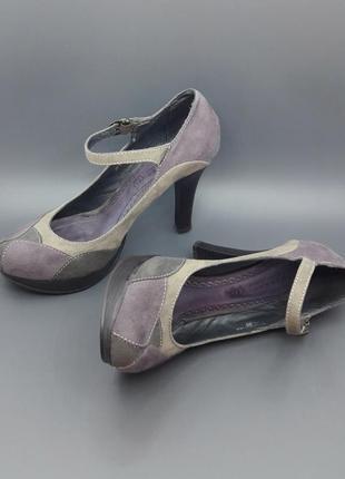 Туфли натуральный замша кожа carnaby оригинал