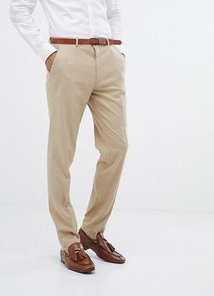 Брюки ,штаны классические,бежевые,шикарное качество,c&a