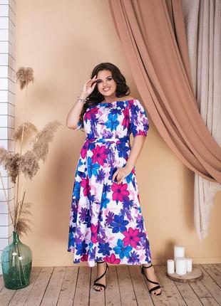 Распродажа скидки sale платье в цветок