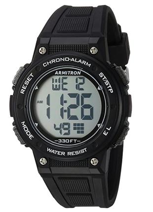 Armitron 45/7086 часы из сша секундомер будильник wr330ft dual time