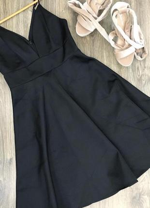 Новое черное платье h&m