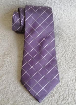 Оригинальный шелковый галстук jeff banks