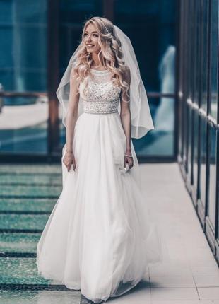 Свадебное платье crystal design.