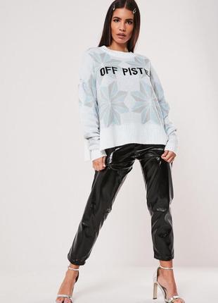 Missguided. англия. джемпер с потрясающим дизайном в модном оверсайзе.
