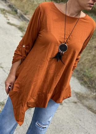 Шикарный нарядный свитерок кофточка италия с украшением