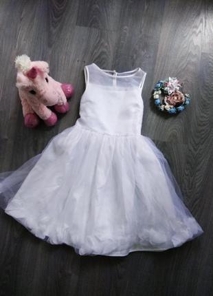 10-11р платье сукня сарафан нарядное пышное