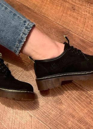 Туфли оксфорды dr martens