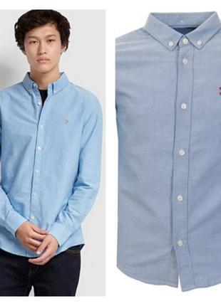 👔 стильная фирменная рубашка на 8-10 лет премиум качество! farah 👔