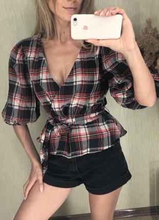 Объемная блуза h&m