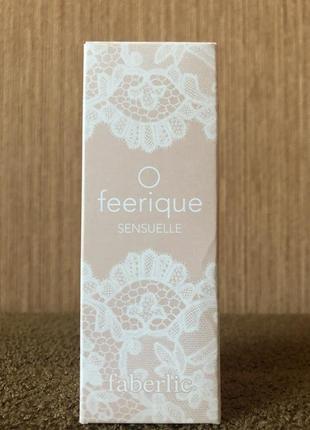 Парфюмерная вода faberlic o feerique sensuelle - 15ml.