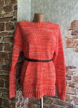 Идеальный коралловый свитер джемпер gap оригинал сша