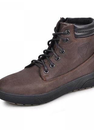 Кожаные ботинки мустанг maxus 1101467 (р.32-39)