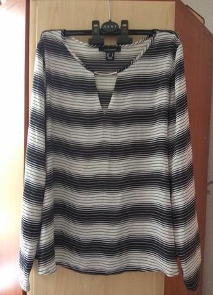 Женская блузка atmosphere /полосатая блузка