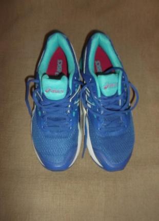 Кроссовки стильные синие р. 39-стелька 24,5 - полнота 7 -1\2 asics gel - pulse 9