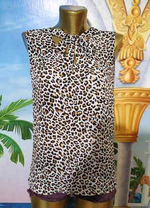 Леопардовая блуза atmosphere