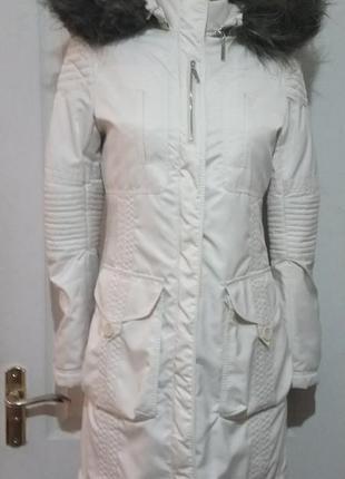 Теплая куртка/парка. стёганая внутри karen millen