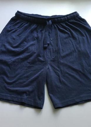 Темно синие домашние шорты, хлопковыe livergy
