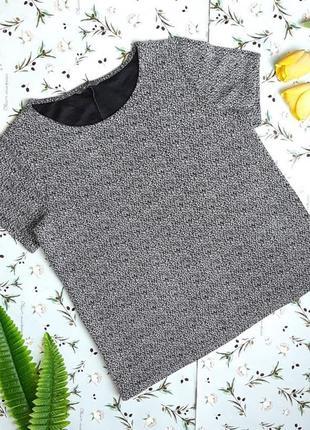 🌿1+1=3 фирменная модная женская футболка hema, размер 48 - 50