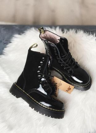 Женские ботинки  dr martens jadon black