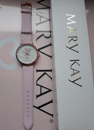 Часы хамелеон с белого в розовий mary kay мери кей mary kay