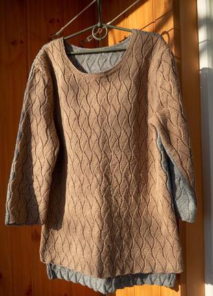 Классный свитер ручной работы
