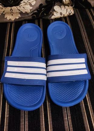 Шлепанцы сланцы adidas 38p синие