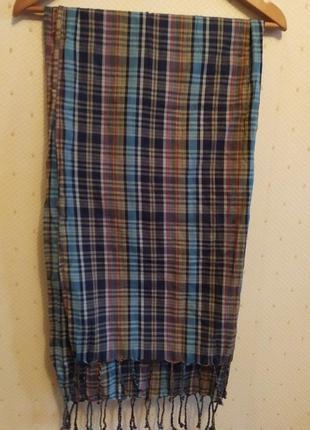 Широкий,легкий шарфик от ralph lauren