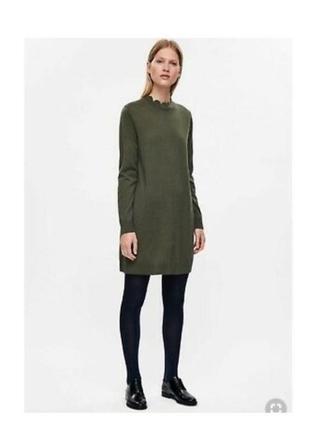 Шерстяное платье свитер cos