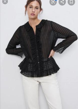 Красивая блуза блузка zara новая коллекция