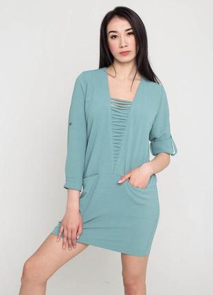 Оригинальное платье-рубашка