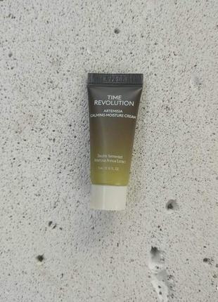 Крем для лица missha time revolution artemisia calming moisture cream 5 мл