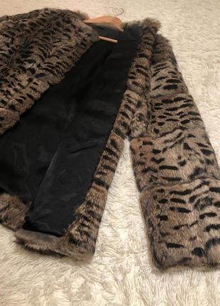Цена топ! шуба шубка натуральная из кролика модный крой все продажи до 14/08