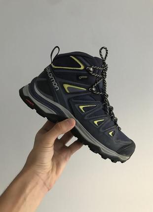 Водонепроницаемые высокие кроссовки от salomon x ultra 3 mid